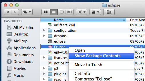 Mac Eclipse Javadoc Fix #1